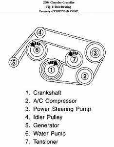 I Need A Belt Routing Diagram For A 04 Chrysler Crossfire