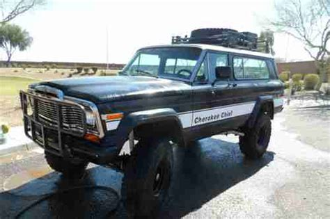 jeep chief 1979 find used 1979 jeep cherokee chief 4wd sport wide track 2