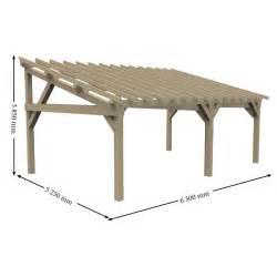 Carport 2 Voitures Bois : sup rieur abri de jardin bois autoclave 10 carport 2 ~ Dailycaller-alerts.com Idées de Décoration