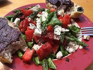Salat Mit Spinat : erdbeer spargel spinat feta salat mit mohndressing von kati2707 ~ Orissabook.com Haus und Dekorationen