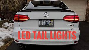 2015   Mk6 Jetta Led Tail Light Install - How To