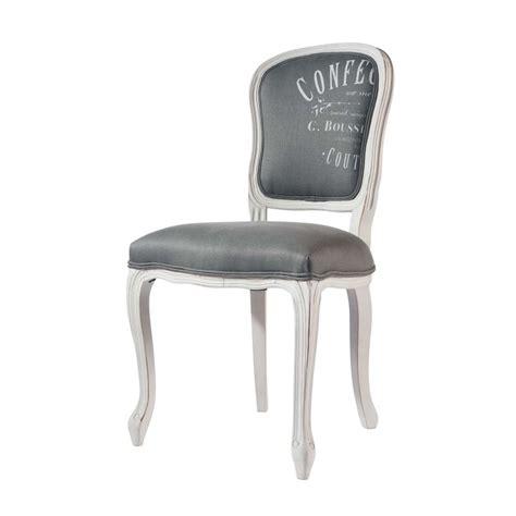 chaise gris clair chaise en et bois massif gris clair versailles