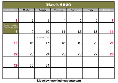 march calendar printable template calendar template printable