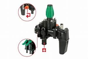 Manual Main Control Valve With Manual Adjustable Pressure
