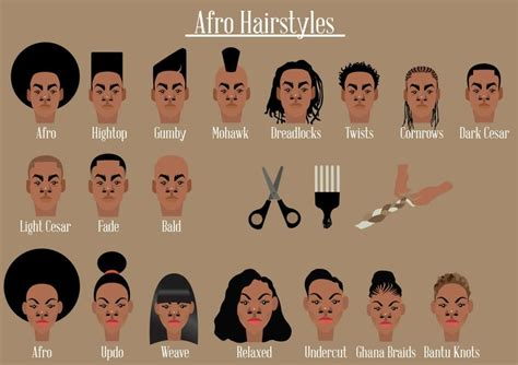 afro   illustrate  afro hairstyle