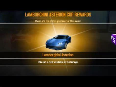trion nemesis asphalt 8 maxing the lamborghini asterion youtube