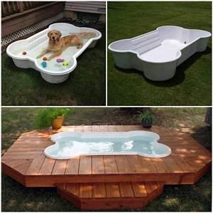 Hunde Pool Bauen : build a diy dog pool to keep your pup cool healthy paws ~ Frokenaadalensverden.com Haus und Dekorationen