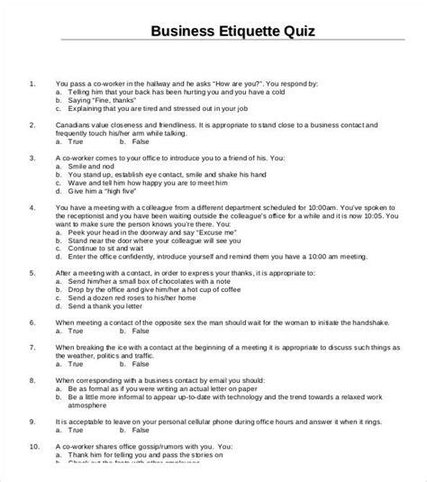 quiz template word 5 best free business quiz templates free premium templates