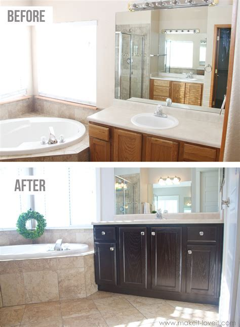 How to Stain OAK Cabinets the simple method (without