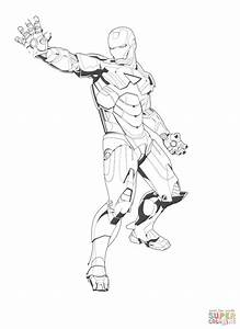 Tony Stark Coloring Page Free Printable Coloring Pages