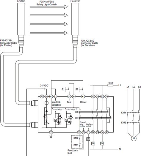 circuit diagrams of safety components technical guide india omron ia
