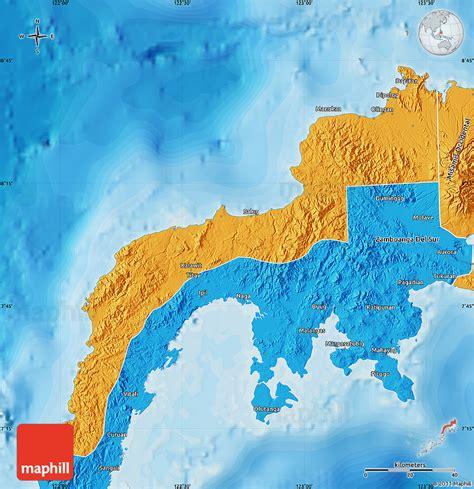 political map  zamboanga del norte
