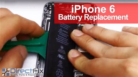 iphone  battery replacement shown   minutes youtube