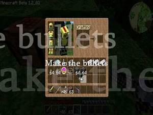 Minecraft Gun (Make) - YouTube