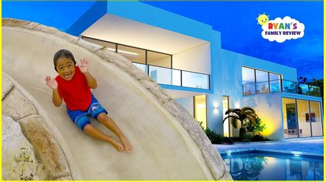 Ryan's New House And New Swimming Pool Tour!!!  Youtube