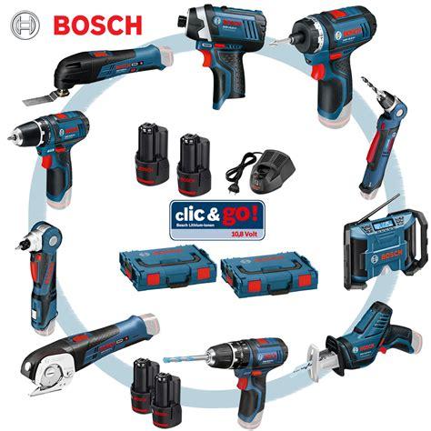 bosch 10 8 set bosch clic go 10 8 volt set combinata rene dopo il