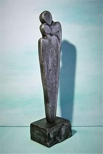 Deko Figuren Liebespaar : kunstgalerie winkler skulptur silber paar deco figur abstrakt menschen unikat acrylbilder ~ Indierocktalk.com Haus und Dekorationen