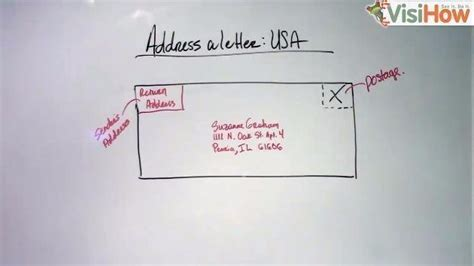 how to address a letter to mexico address a letter to an american visihow 31763