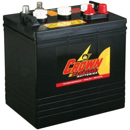 crown cr 240 cr 240 6 volt 240 ah gc2 deep cycle solar battery