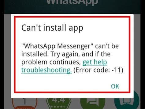 how to fix can t install app error code 11 in play store