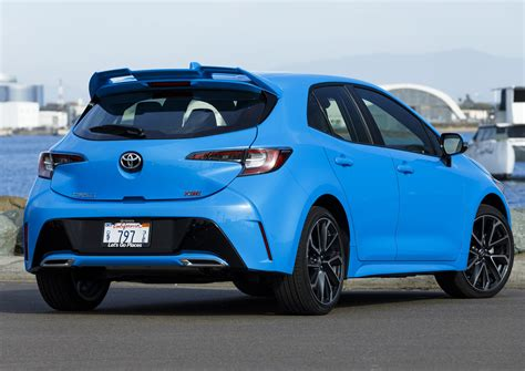 2019 Toyota Vehicles by 2019 Toyota Corolla Hatch Attitude And Utility The