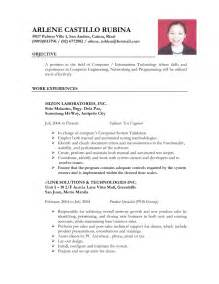 exle of resume letter for ojt exles of resumes resume bad exle choose 14 great sles in 81 astounding