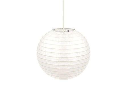 suspension en papier armature bambou coloris blanc conforama pickture