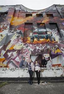 Young Liverpool creative talent inspires giant artwork at ...