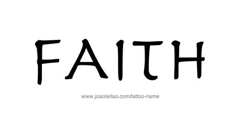 faith  tattoo designs