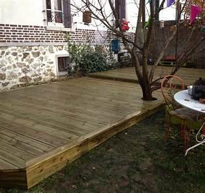 Prix Bois Terrasse Classe 4 : terrasse en bois dans l 39 oise 60 sp cialiste de la terrasse ~ Premium-room.com Idées de Décoration