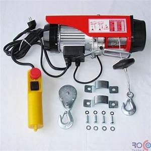 Palan Electrique 220v : palan 250 treuil electrique 220v 125 250kg accessoires ~ Edinachiropracticcenter.com Idées de Décoration