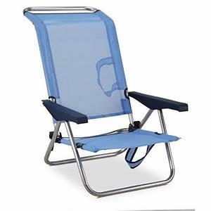 Siege De Plage Ultra Leger : eredu chaise de plage lit 4 positions avec poign es ~ Dailycaller-alerts.com Idées de Décoration