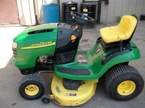 deere l110 mower deck 2003 deere l110 lawn garden and commercial mowing