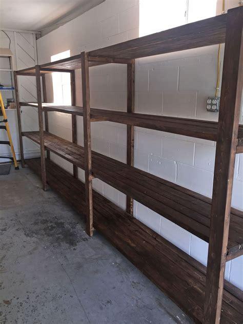 stained  diy garage storage favorite plans ana white