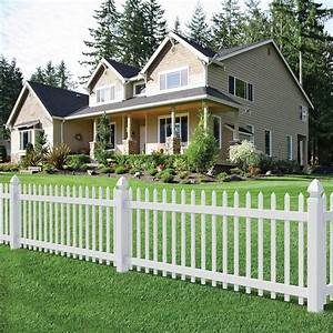 White Yard Fence Ideas Nameahulu Decor Awesome Yard