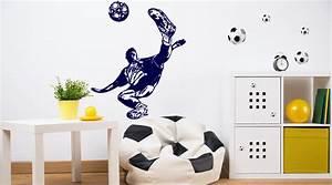 Fussball Deko Für Kinderzimmer : fussball wandtattoos fu ball wandtattoo wall art wandtattoos bestellen deko idee und ~ Sanjose-hotels-ca.com Haus und Dekorationen