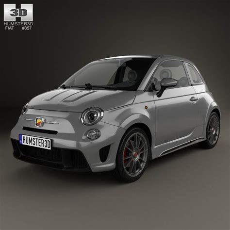 Fiat 500 Base Price by Fiat 500 Abarth 695 Biposto 2014 3d Model Fiat 3d Models