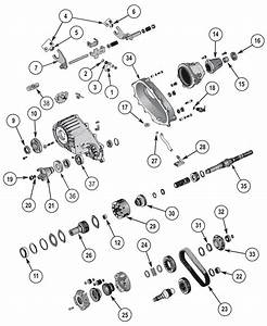 New Process Np242 Transfer Case Parts 1987