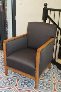 Changer Tissu Canapé : changer le tissu d 39 un fauteuil tapissier brest fauteuils pinterest ~ Nature-et-papiers.com Idées de Décoration