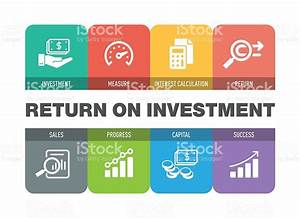 Return On Investment Icon Set Stock Vector Art & More ...