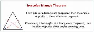 Equilateral And Isosceles Triangles  Solutions  Examples