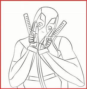 Marvel Deadpool Ausmalbilder Zum Ausdrucken - Rooms