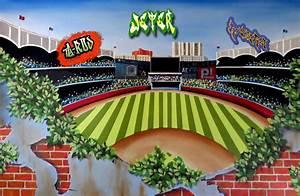 Kristin Plansky Murals   Yankee Stadium