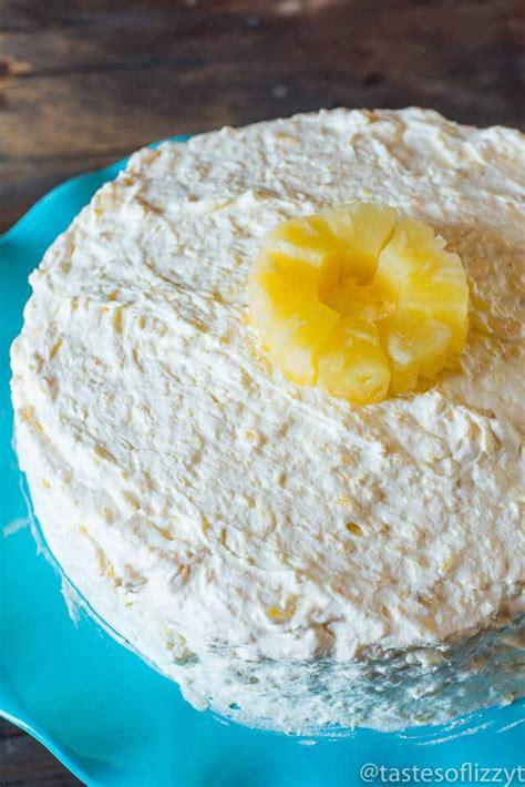orange pineapple pig pickin cake tastes  lizzy
