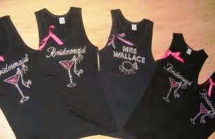 5 custom rhinestone bridesmaid tank tops bridal - Bridesmaid Shirt
