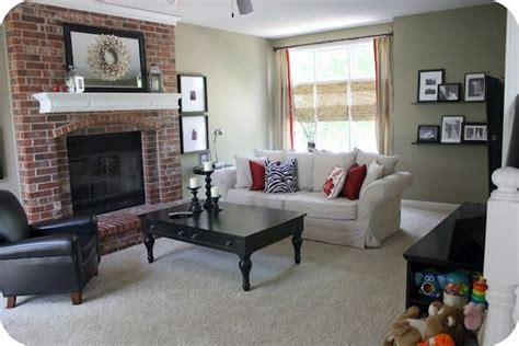 paint colors living room brick fireplace 12 best images about colors the compliment brick