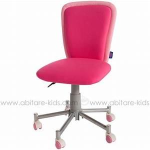 Chaise De Bureau Rose : chaise bureau fille rose le blog des geeks et des gamers ~ Teatrodelosmanantiales.com Idées de Décoration