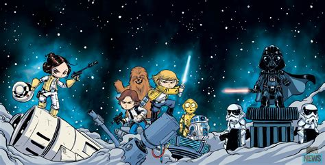 foto de Image Star Wars Marvel 2015 Skottie Young