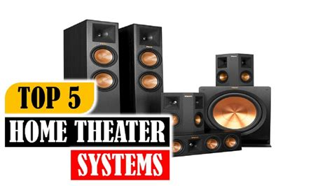 Top Home Theater Systems Best