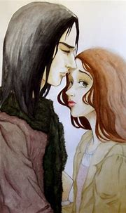 Snape and Lily - Severus Snape & Lily Evans Fan Art ...